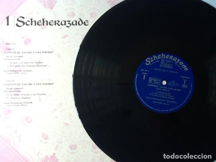 Discos de vinilo: L.P. SCHEHERAZADE UN FESTIVAL DE MÚSICA EXÓTICA. 10 DISCOS 33/ 1/3 RPM. NUEVOS. VER FOTOS. - Foto 13 - 175161585