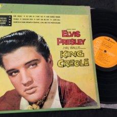 Discos de vinilo: DISCO LP VINILO ELVIS PRESLEY KING CREOLE PRIMERA EDICIÓN ESPAÑOLA DE 1976. Lote 175180575