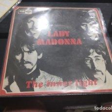 Discos de vinilo: SINGLE THE BEATLES LADY MADONNA. Lote 175180679