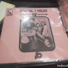 Discos de vinilo: SINGLE CANNED HEAT POOR MOON . Lote 175180945