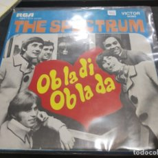 Discos de vinilo: SINGLE THE SPECTRUM OB LA DI OB LA DA. Lote 175182053