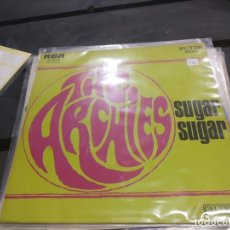 Discos de vinilo: SINGLE THE ARCHIES SUGAR SUGAR. Lote 175182795