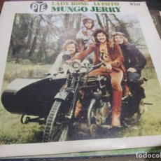 Discos de vinilo: SINGLE MUNGO JERRY LADY ROSE. Lote 175183973