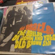 Discos de vinilo: SINGLE THE BEATLES THE BALLAD OF JOHN AND YOKO. Lote 175185959