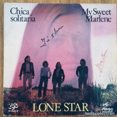 Discos de vinilo: LONE STAR CHICA SOLITARIA SINGLE DISCO EXC. Lote 175187345