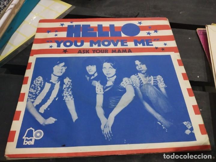 SINGLE HELLO YOU MOVE ME (Música - Discos - Singles Vinilo - Otros estilos)
