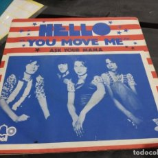 Discos de vinilo: SINGLE HELLO YOU MOVE ME . Lote 175191783