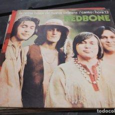 Discos de vinilo: SINGLE REDBONE LA REINA BRUJA DE NUEVA ORLEANS. Lote 175193304