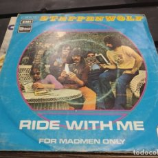 Discos de vinilo: SINGLE STEPPENWOLF RIDE WITH ME. Lote 175193463