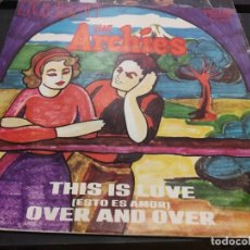 Discos de vinilo: SINGLE THE ARCHIES THIS IS LOVE . Lote 175194185