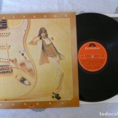 Discos de vinilo: SALVADOR BANANA DEDICATORIA VINILO LP EXC TARZEN BANZAI. Lote 175194422