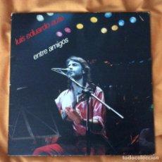 Discos de vinilo: LUIS EDUARDO AUTE ENTRE AMIGOS. Lote 203793287