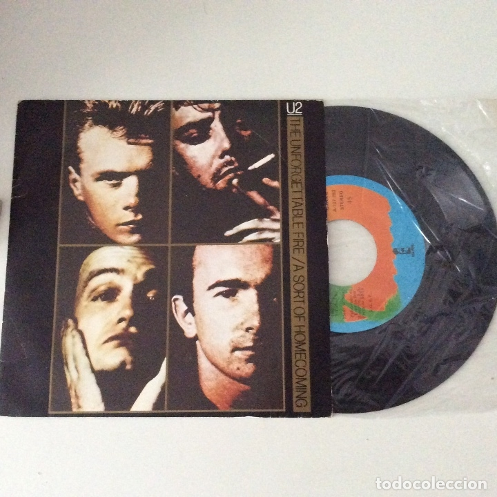 Discos de vinilo: U2 The unforgettable fire A sort of homecoming - Foto 2 - 175195090