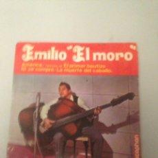Discos de vinilo: EMILIO EL MORO. Lote 175208295