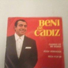 Discos de vinilo: BENI DE CÁDIZ. Lote 175209193