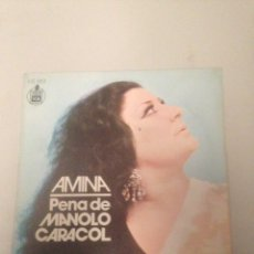 Discos de vinilo: AMINA. Lote 175209717