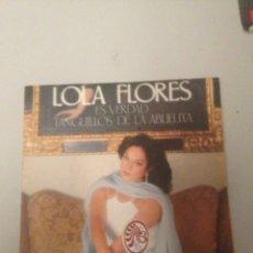 Discos de vinilo: LOLA FLORES. Lote 175210082