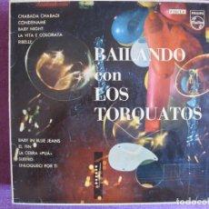 Discos de vinilo: 10 PULGADAS - LOS TORQUATOS - BAILANDO CON LOS TORQUATOS (SPAIN, PHILIPS 1961). Lote 175212309