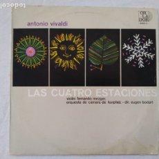 Discos de vinilo: VIVALDI.LAS CUATRO ESTACIONES LP. Lote 175213493