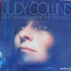 Discos de vinilo: LP - JUDY COLLINS - WHO KNOWS WHERE THE TIME GOES (USA, ELEKTRA 1968, PORTADA DOBLE). Lote 175216830