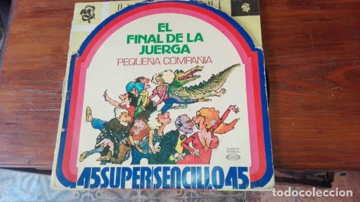 EL FINAL DE LA JUERGA,, PEQUEÑA COMPAÑIA.. LP MAXISINGLE MOVIE PLAY (Música - Discos - LP Vinilo - Disco y Dance)
