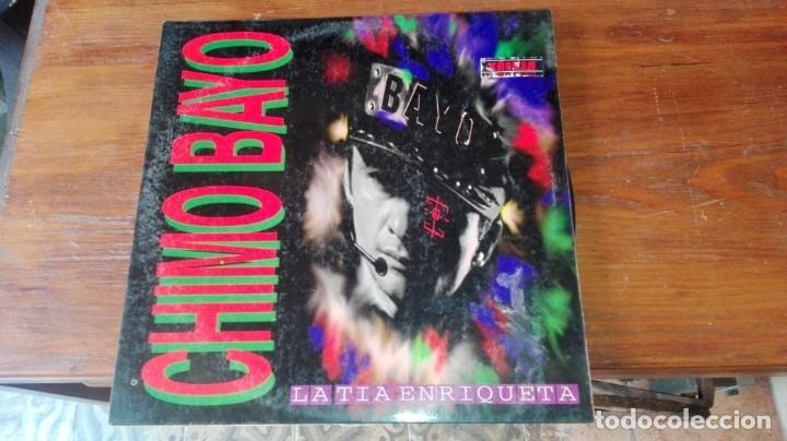 CHIMO BAYO 'LA TÍA ENRIQUETA' VINILO LP MAXI 1994 4 TEMAS RUTA DEL BAKALAO (Música - Discos - LP Vinilo - Disco y Dance)