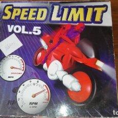 Discos de vinilo: LP SPEED LIMIT VOL 5. Lote 175223867
