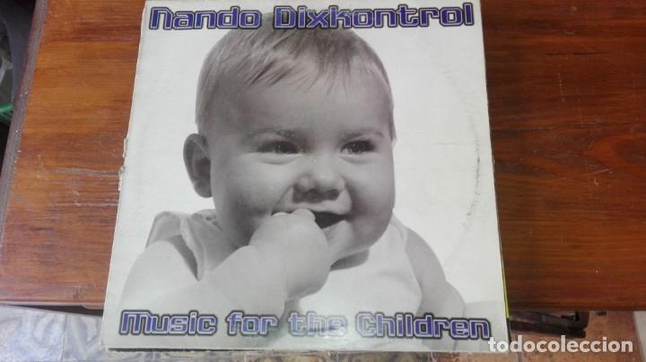 NANDO DIXKONTROL. - MUSIC FOR THE CHILDREN (Música - Discos - LP Vinilo - Disco y Dance)