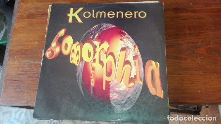 LP COLMENERO SOMORFIA (Música - Discos - LP Vinilo - Electrónica, Avantgarde y Experimental)