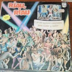 Discos de vinilo: VINILO RIAU RIAU. Lote 175224199