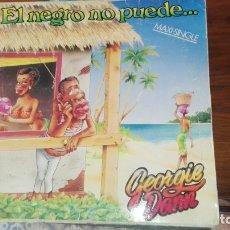 Discos de vinilo: GEORGIE DANN - EL NEGRO NO PUEDE / LA COLEGIALA / MY MORENITA - MX - RCA 1987 . Lote 175224412