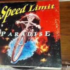Discos de vinilo: LP SPEED LIMIT PARADISE. Lote 175224468