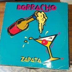 Discos de vinilo: BORRACHO ZAPATA LP. Lote 175225328