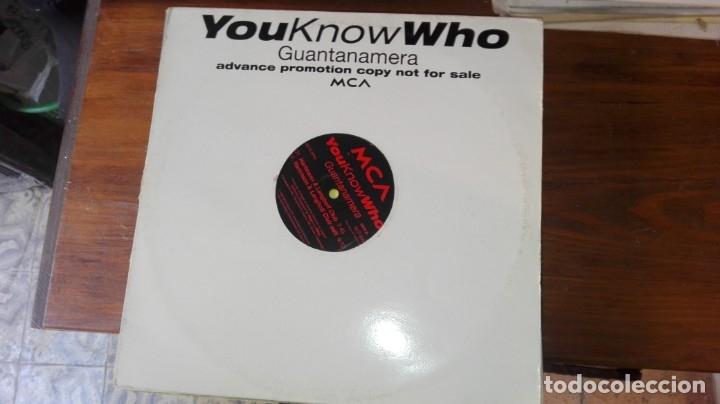 YOU KNOW WHO GUANTANAMERA PROMOCIONAL (Música - Discos - LP Vinilo - Disco y Dance)