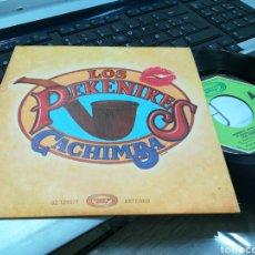 Discos de vinilo: LOS PEKENIKES SINGLE CACHIMBA 1977 EN PERFECTO ESTADO. Lote 175225818