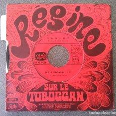 Discos de vinilo: REGINE SUR LE TOBOGGAN. Lote 175231880