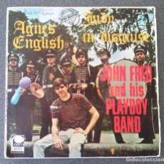 Discos de vinilo: JOHN FRED AND HIS PLAYBOY BAND AGNES ENGLISH. Lote 175231968