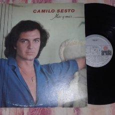 Discos de vinilo: CAMILO SESTO---MAS Y MAS. Lote 175231982