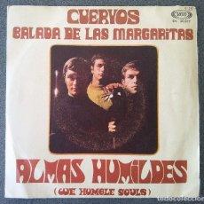 Discos de vinilo: ALMAS HUMILDES CUERVOS. Lote 175232060