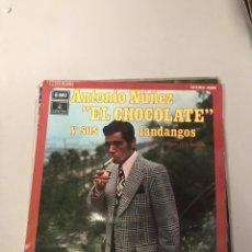 Discos de vinilo: EL CHOCOLATE. Lote 175233660