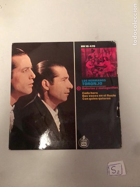 LOS HERMANOS TORONJO (Música - Discos - Singles Vinilo - Flamenco, Canción española y Cuplé)