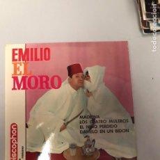 Discos de vinilo: EMILIO EL MORO. Lote 175234330