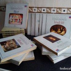 Discos de vinilo: 66-MUSICALIA, GUIA DE LA MUSICA CLASICA, 100 DISCOS + 5 VOLUMENES, SALVAT, 1986, COMPLETA!!!. Lote 175234774