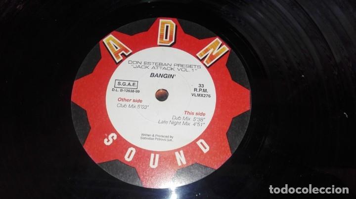 LP JACK ATACK VOL 1 DON ESTEBAN (Música - Discos - LP Vinilo - Disco y Dance)