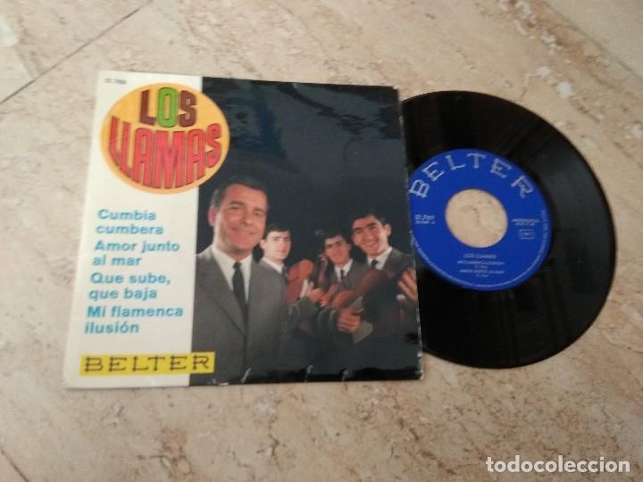 LOS LLAMAS-EP- MI FLAMENCA ILUSION+3 * SPANISH GRUP-BELTER-1967- (Música - Discos de Vinilo - EPs - Grupos Españoles 50 y 60)
