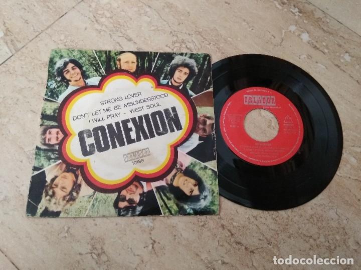 CONEXION -STRONG LOVER +3 (ORLADOR – EP 1970) SPANISH GRUP FUNK SOUL. (Música - Discos de Vinilo - EPs - Grupos Españoles 50 y 60)
