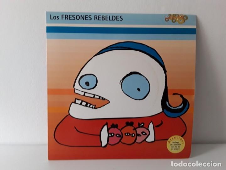LOS FRESONES REBELDES - CREO QUE ME QUIERE EP (SPICNIC 1998) (Música - Discos de Vinilo - EPs - Grupos Españoles de los 90 a la actualidad)