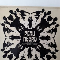Discos de vinilo: PERU NEGRO - GRAN PREMIO DEL FESTIVAL HISPANOAMERICANO... (LP MOVIEPLAY 1973) FIRMADO POR EL GRUPO. Lote 175259943
