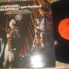 Discos de vinilo: STEPHANE GRAPPELLI ( I GOT RHYTHM! ) (BLACK LION -1974 EDITADO HOLLAND. Lote 175265423