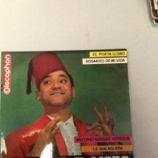 Discos de vinilo: EMILIO EL MORO. Lote 175270584